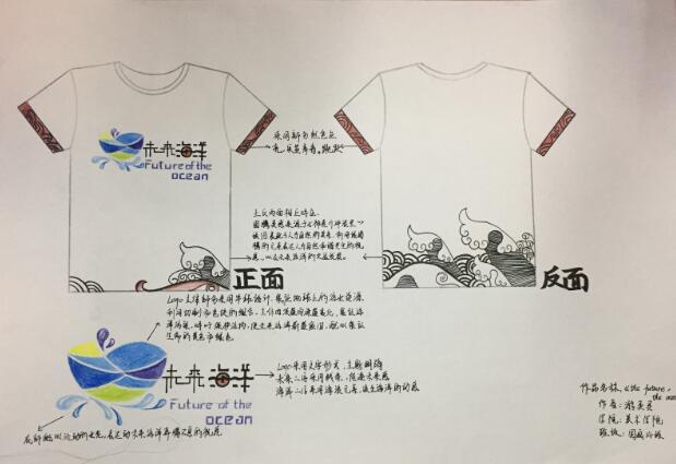 在本次海洋文化节海洋文化嘉年华现场,大赛获奖的近30件作品进行图片